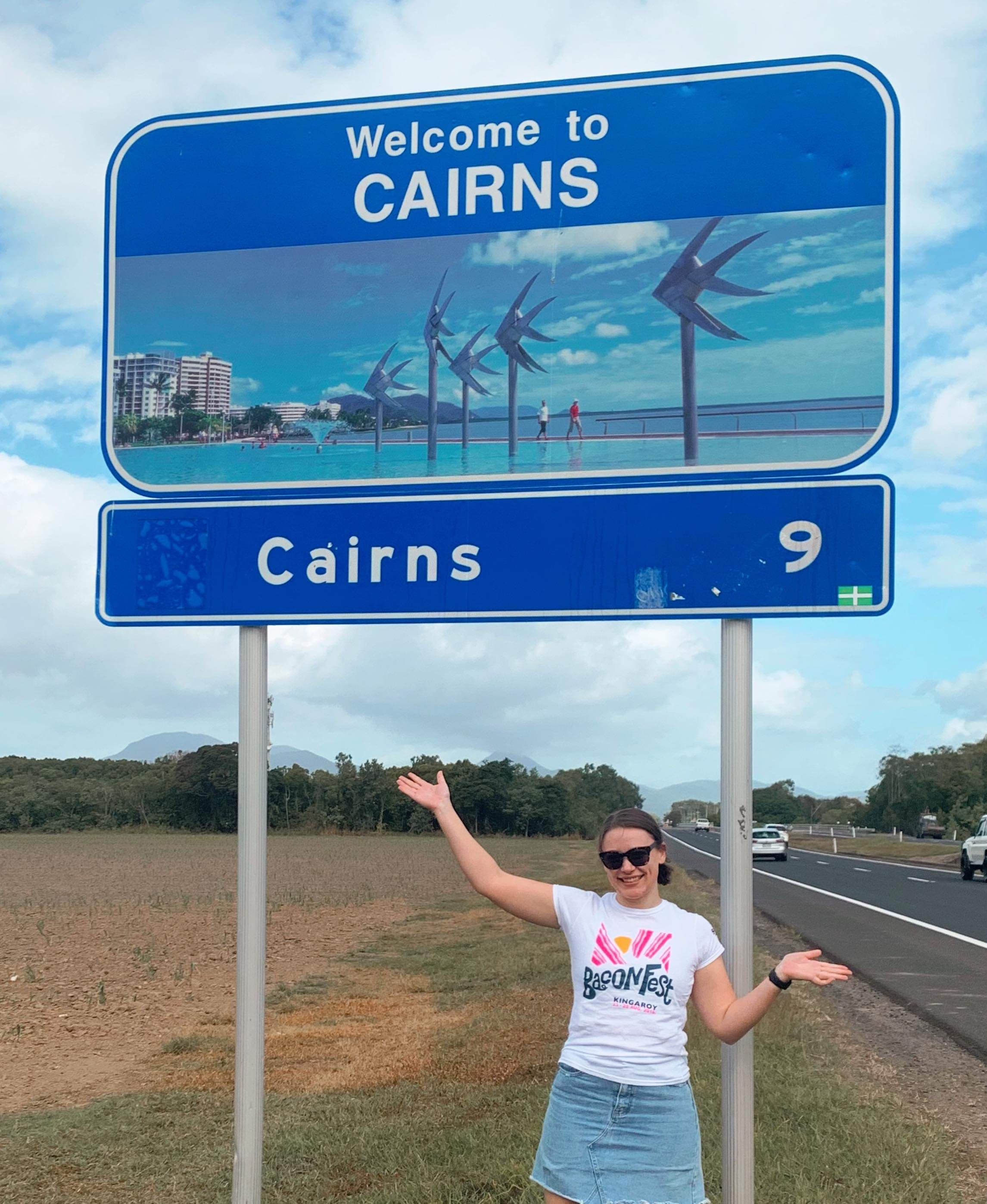 Maddie Gibson, 9 Kms from Cairns